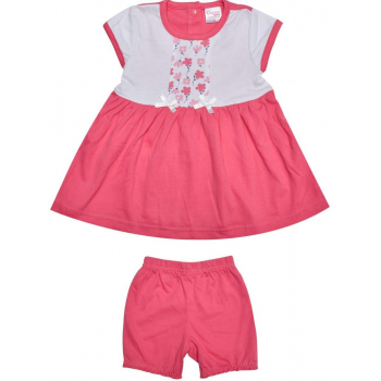Avery Floral Frock with Bloomer for Girls