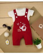 Gamer Dungaree with T-shirt For Boys
