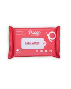 Antibacterial Baby Wipes with Enriched Aloe Vera & Vitamin E (40 Wipes)