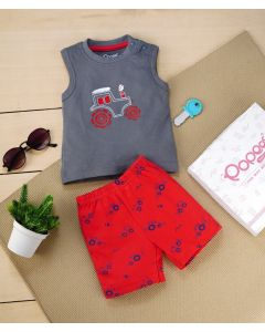 Brandon T-Shirt with Shorts for Boys