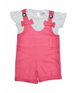 Nuba Dungaree with Inner Tee for Girls