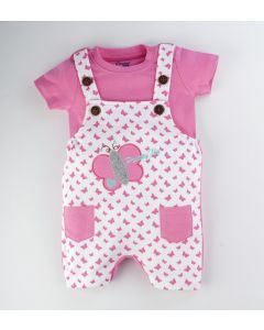 Tibby Dungaree with T-Shirt for Boys