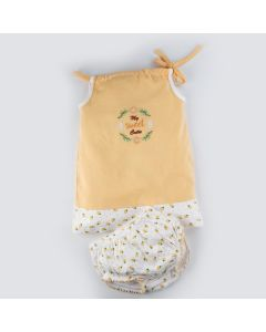 Blume Top With Bloomer for Baby Girls