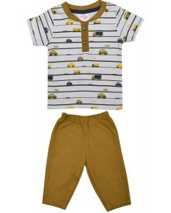 Adolf T-Shirt with Lounge Pant for Boys