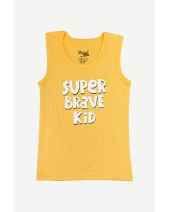 Popees Yellow and Grey Vest For Boys 5-6 YEARS (Pack of 2) 30% DISCOUNT