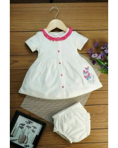 Baliny FROCK and PANTIES for Baby Girls