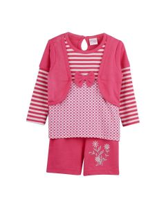 Cindrella-Top and Shorts for Baby Girls