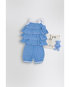 BOOBY Top and Capri Sleeveless for Baby Girls
