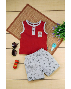 Ragnar T-Shirt with Shorts for Boys