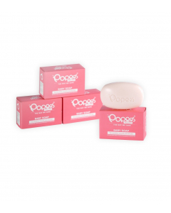 Popees Pack of 4  (4 x 100 g) Moisturizing Baby Soaps